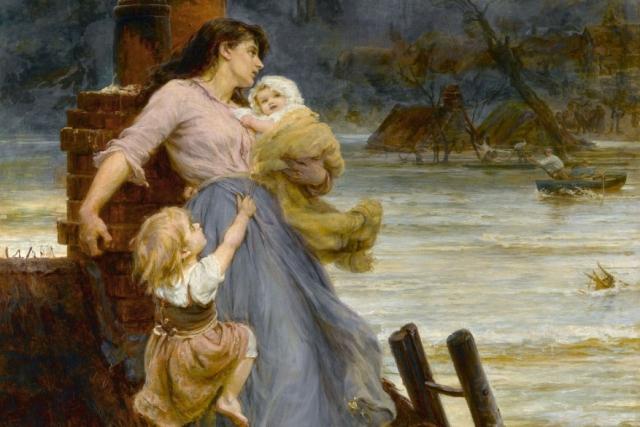 Фредерик Морган. Наводнение