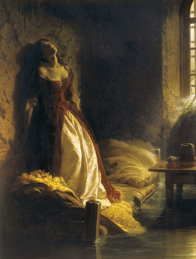 Константин Флавицкий. Княжна Тараканова. 1864
