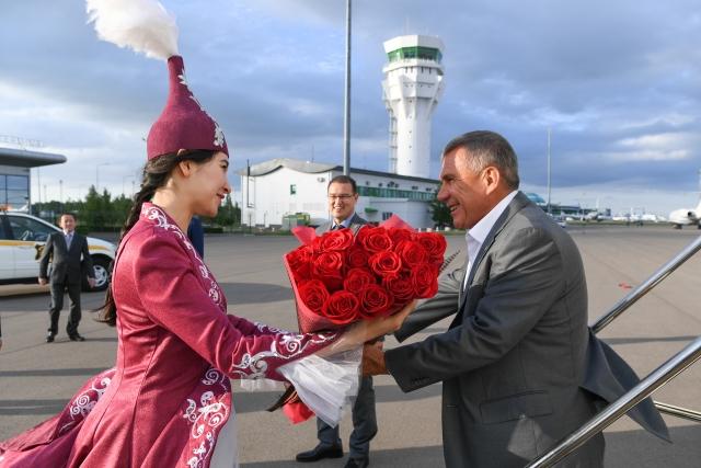 Визит в Республику Казахстан