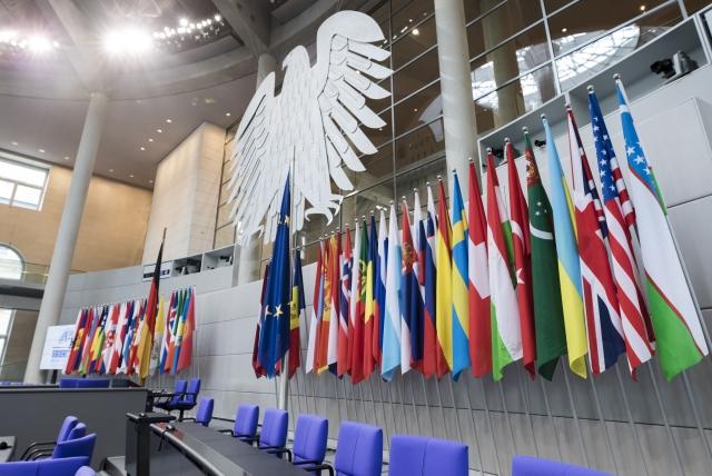 Флаги стран-участниц ПА ОБСЕ