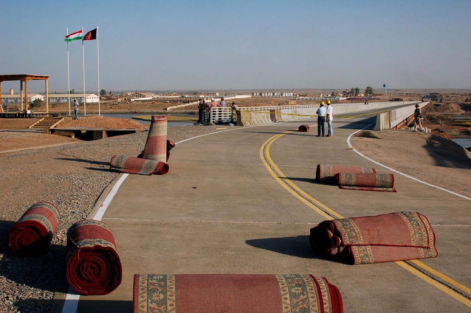 Мост на таджико-афганской границе