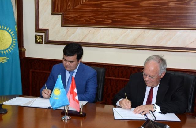 За год товарооборот между Казахстаном и Швейцарией увеличился на 14%