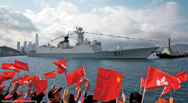 Военно-морской флот Китая