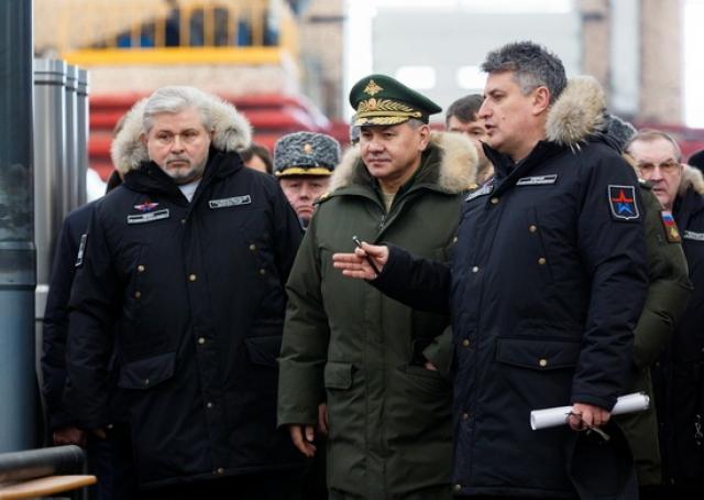 Рабочая поездка Сергея Шойгу в Тулу. Февраль 2017 года