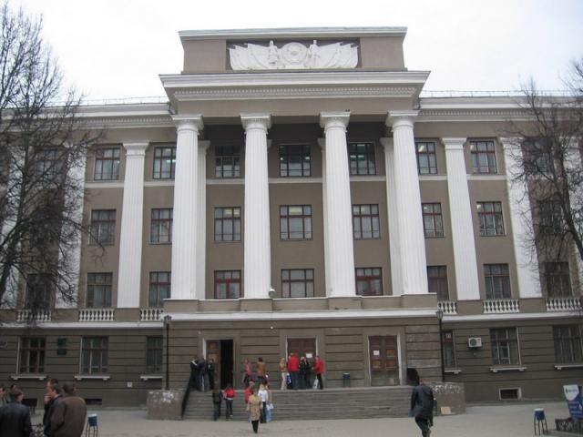 Здание Тульского государственного университета