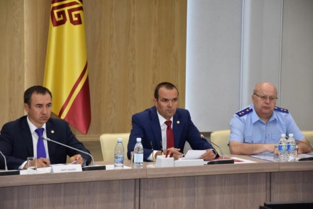 Михаил Игнатьев на заседание по итогам федеральной оценки состояния инвестиционного климата