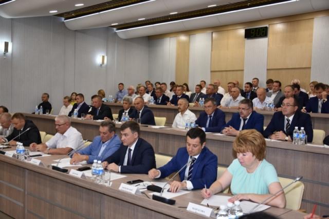 Заседание по итогам федеральной оценки состояния инвестиционного климата