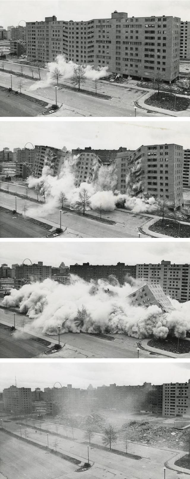 Раскадровка первого взрыва в ЖК.