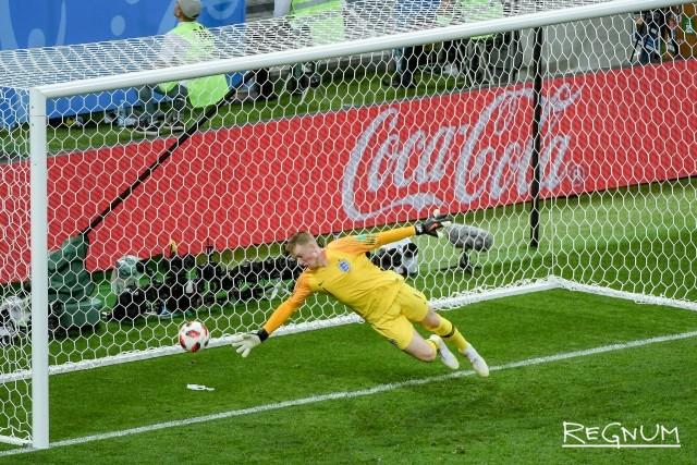 Матч Англия — Хорватия: фоторепортаж