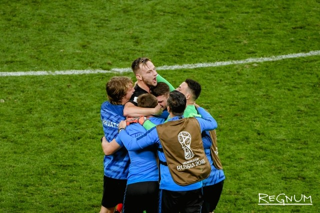 Победа сборной Хорватии