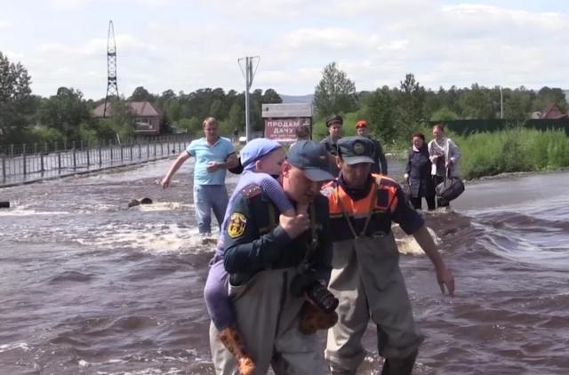 Глава комитета Госдумы: Ситуация с разливом рек в Забайкалье ужасная