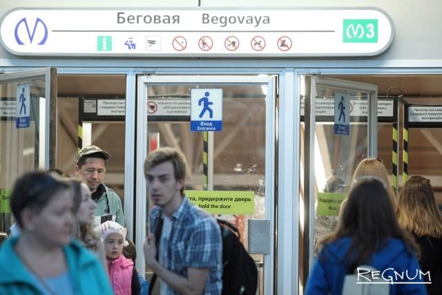 В Петербурге подтекает станция метро, построенная к ЧМ-2018