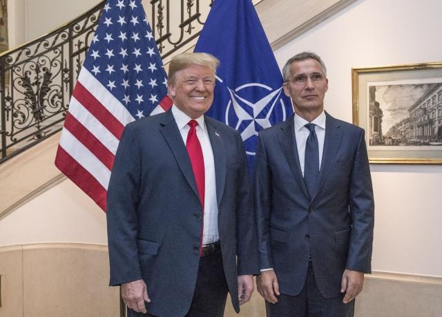 США выйдут из НАТО? В чем состоит троллинг НАТО Трампом