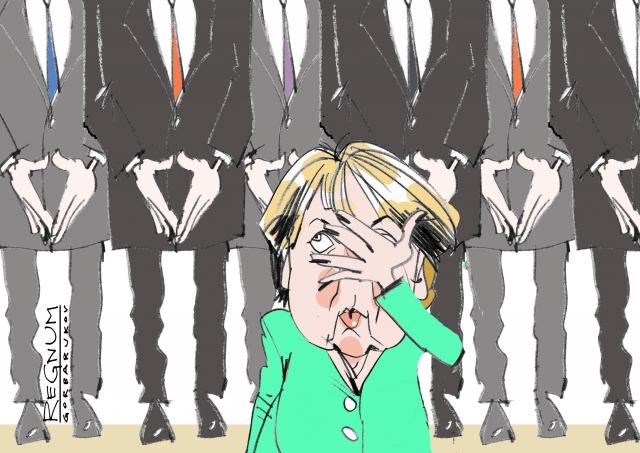 «Меркель — идеальный козёл отпущения»: французская пресса о саммите НАТО