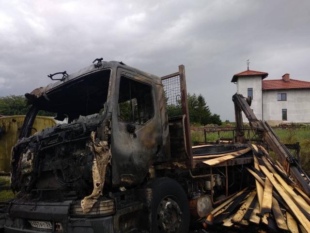 Под Калининградом погиб водитель, задевший ЛЭП стрелой манипулятора