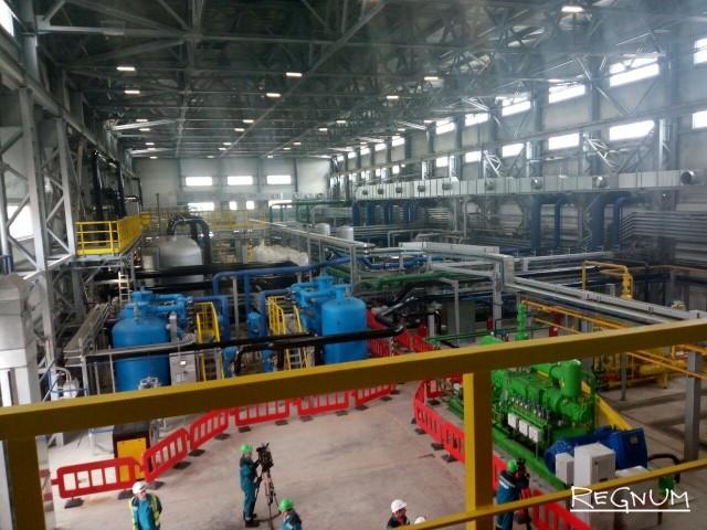 На станции по производству сухого сжатого воздуха и азота