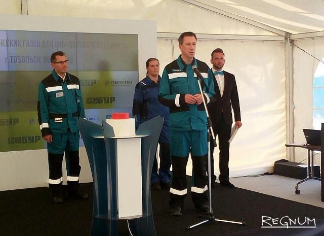 Дмитрий Конов на торжественной церемонии