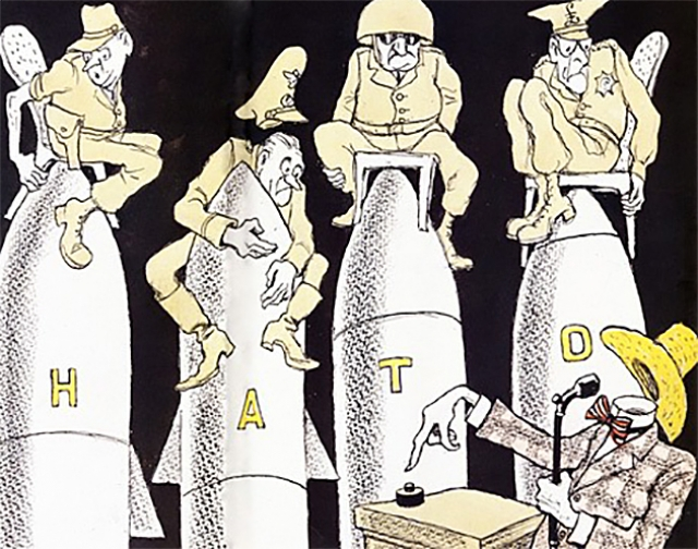 Как генералы НАТО деньги делили