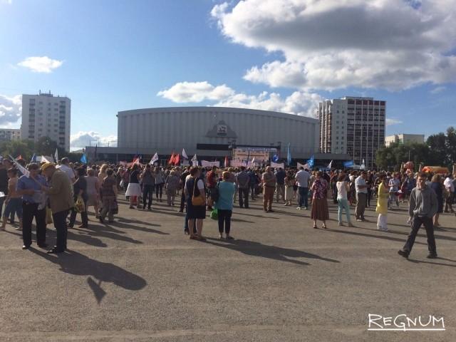 В Башкирии прошел второй митинг против пенсионной  реформы
