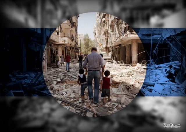 Город Дераа полностью перешел под контроль Дамаска