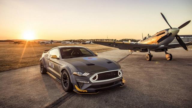 Похожий на истребитель Ford Mustang уйдёт с молотка