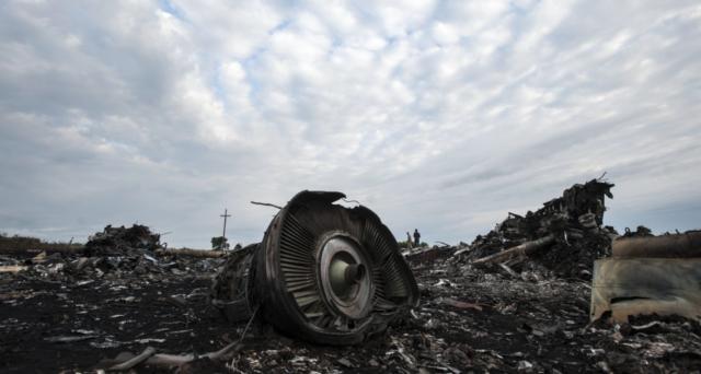 Крушение Boeing 777 в Донбассе