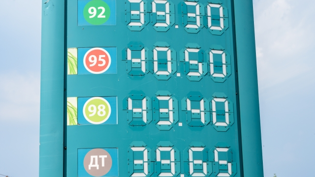 Цены на автомобильное топливо