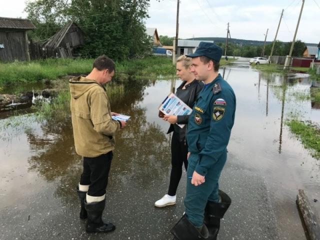Потоп на севере Свердловской области: вода отступает