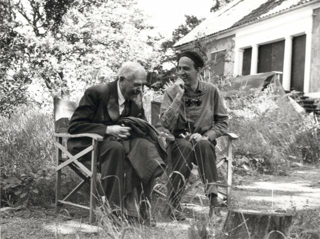 Ингмар Бергман и Виктор Сьестерм