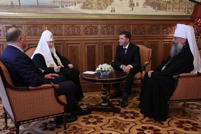 Патриарх Кирилл о Екатеринбурге: «С этим местом связано очень многое»