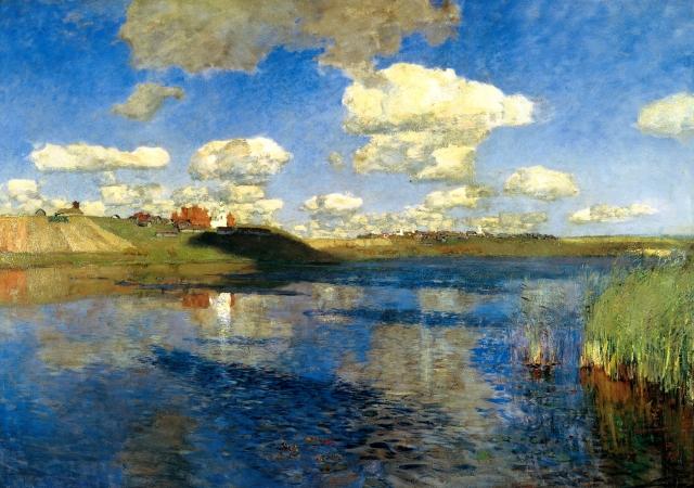 Последняя картина Исаака Левитан «Озеро. Русь» (1900 г.), написана на озере Сенеж