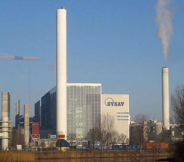 Мусоросжигательный завод в Мальмё, Швеция