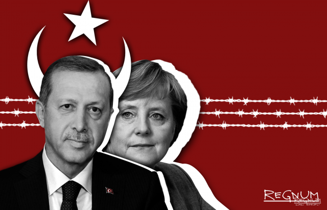 Эрдоган. Меркель