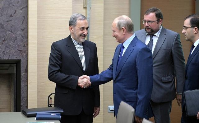 Встреча Владимира Путина и Али Акбара Велайети