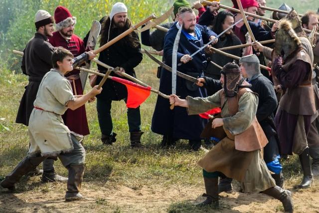 В Калужской области отметили 538-ю годовщину Стояния на реке Угре
