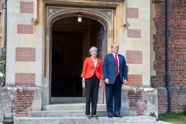 Мэй рассказала, какой вариант Brexit предложил ей Трамп