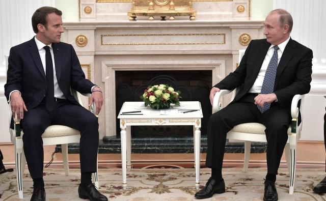 Путин: Россия и Франция восстанавливают механизмы сотрудничества