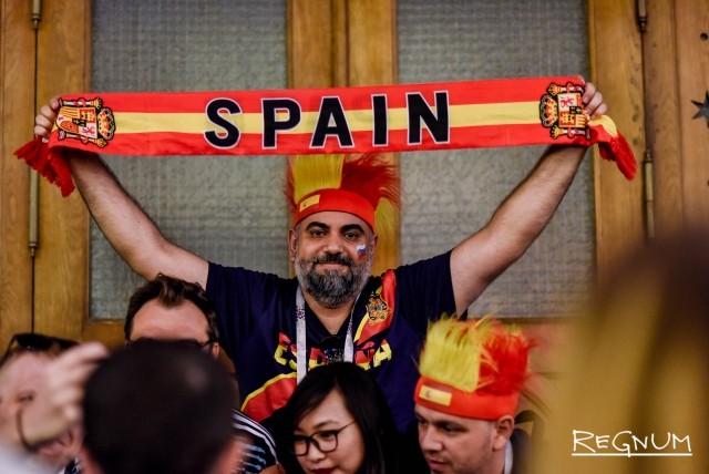 Испанские болельщики