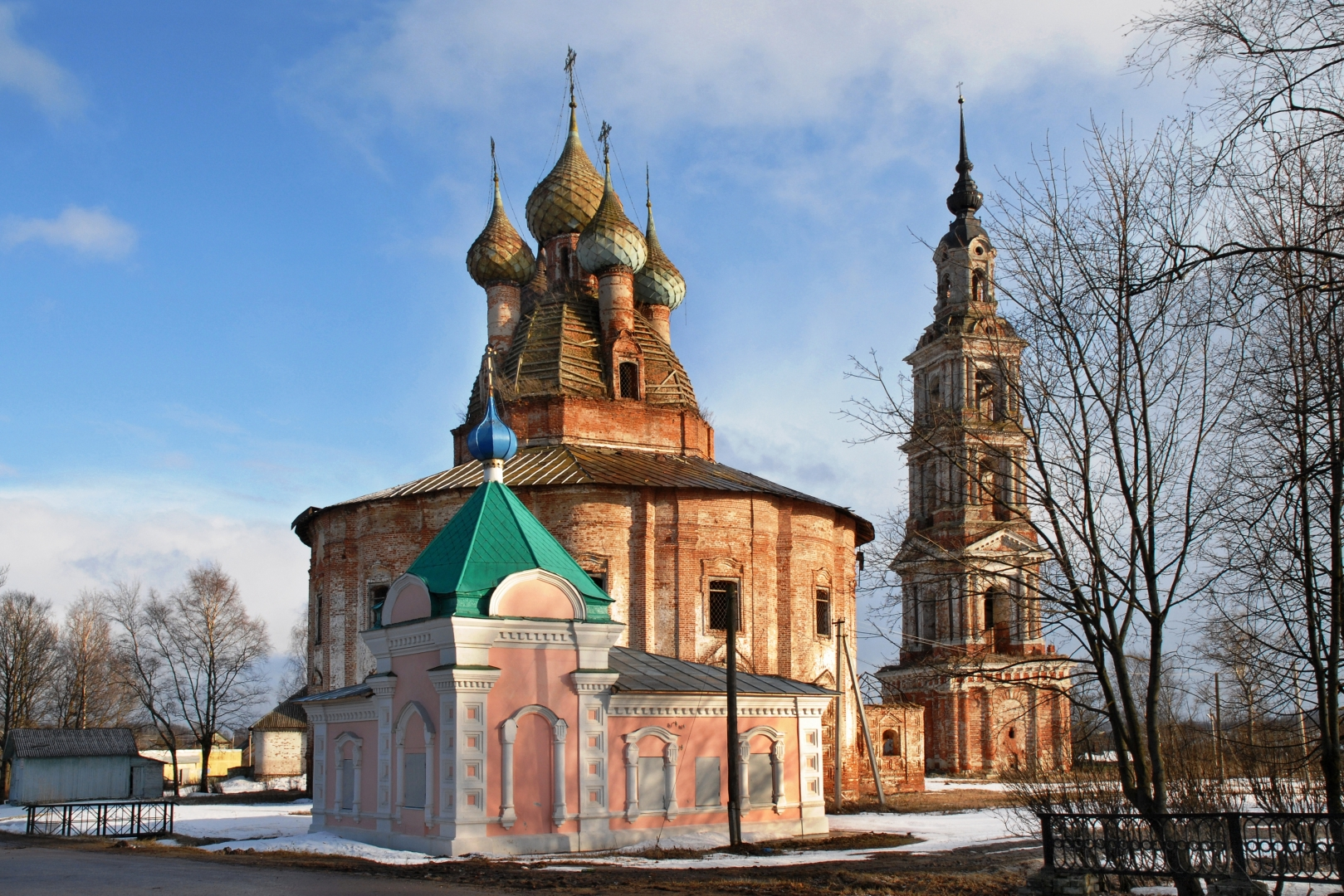 Церкви ярославской области фото