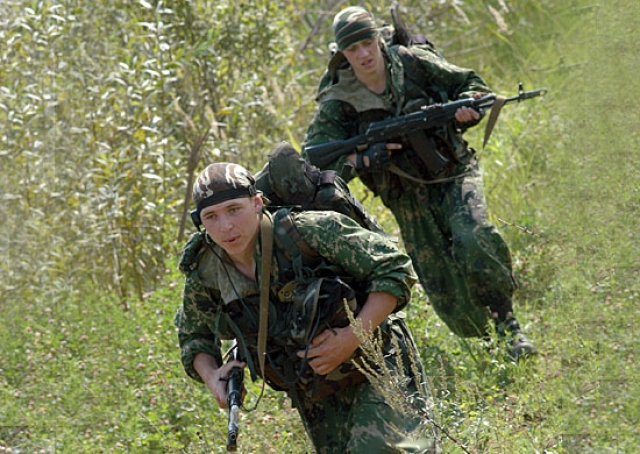Российские солдаты в Армении
