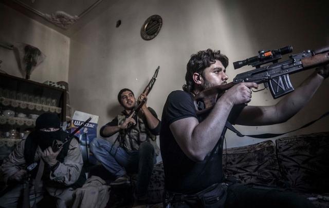 Боевики пытались прорваться из провинции Идлиб в провинцию Хомс