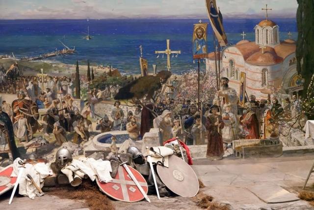 Польшу крестили в Познани. А Русь – в Херсонесе