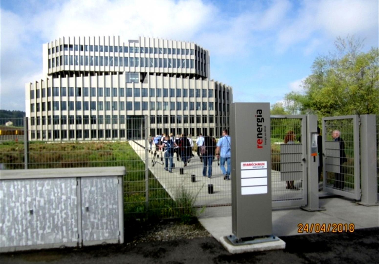 МСЗ Renergia по проекту HZI, построенный в г. Перлен кантона Люцерн в Швейцарии в 2015 году