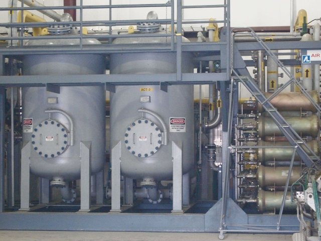 Фильтрация свалочного газа. Газоотделительное оборудование
