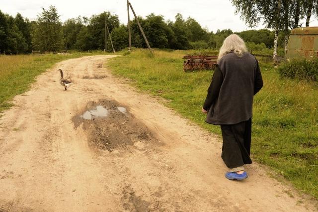 Двухминутная дорога к домовой церкви