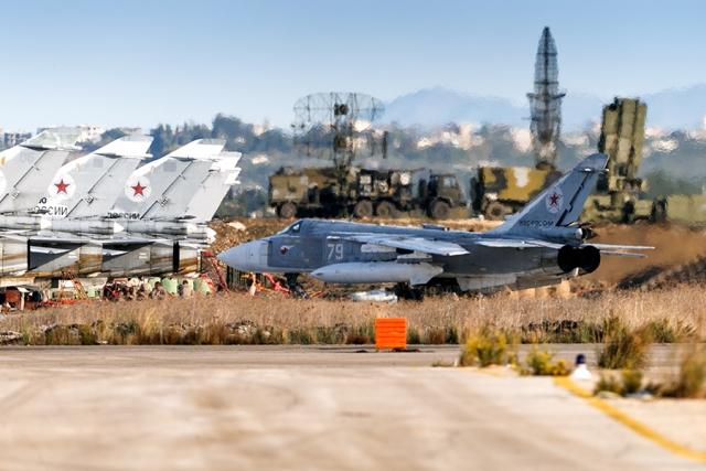 Российская база «Хмеймим» в Сирии