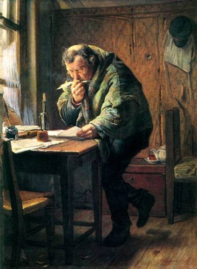 Фирс Журавлев. Чиновник. 1884