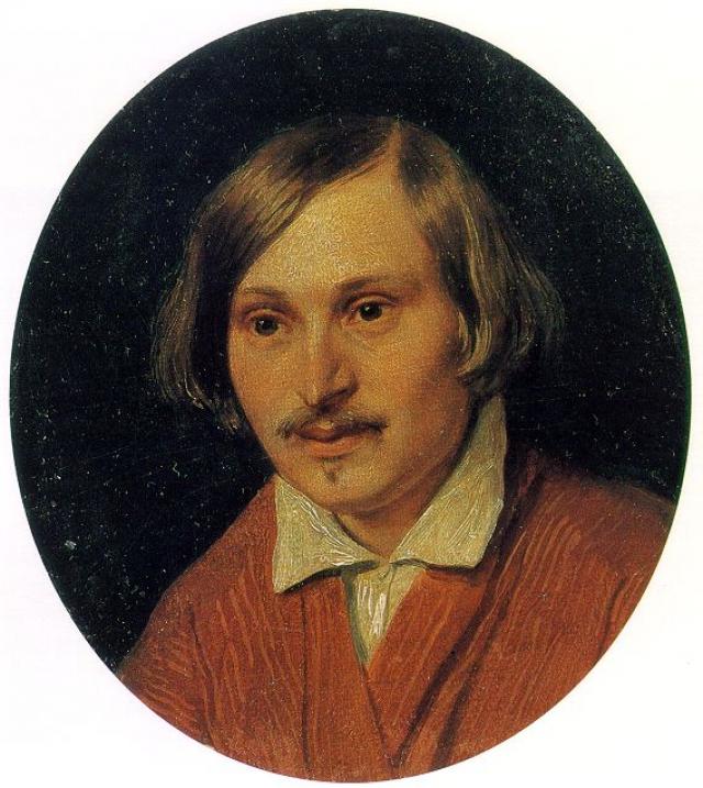 Александр Иванов. Портрет Н. В. Гоголя. 1841