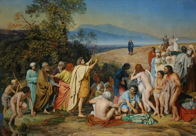 Александр Иванов. Явление Христа народу. (Явление Мессии). 1857