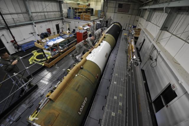 Баллистическая ракета Minuteman III.